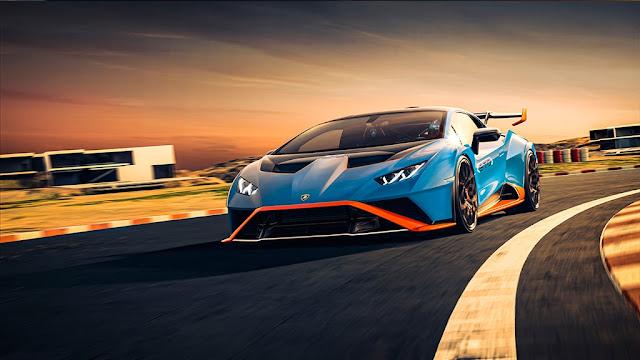 The Lamborghini Huracan STO