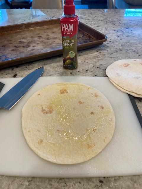Making Homemade Tortillas Chips