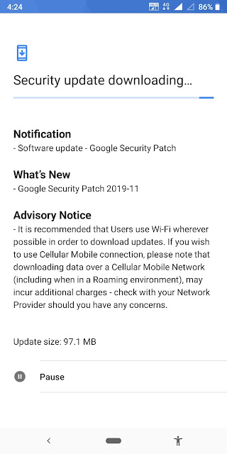 Nokia 7 Plus receiving November 2019 Android Security update