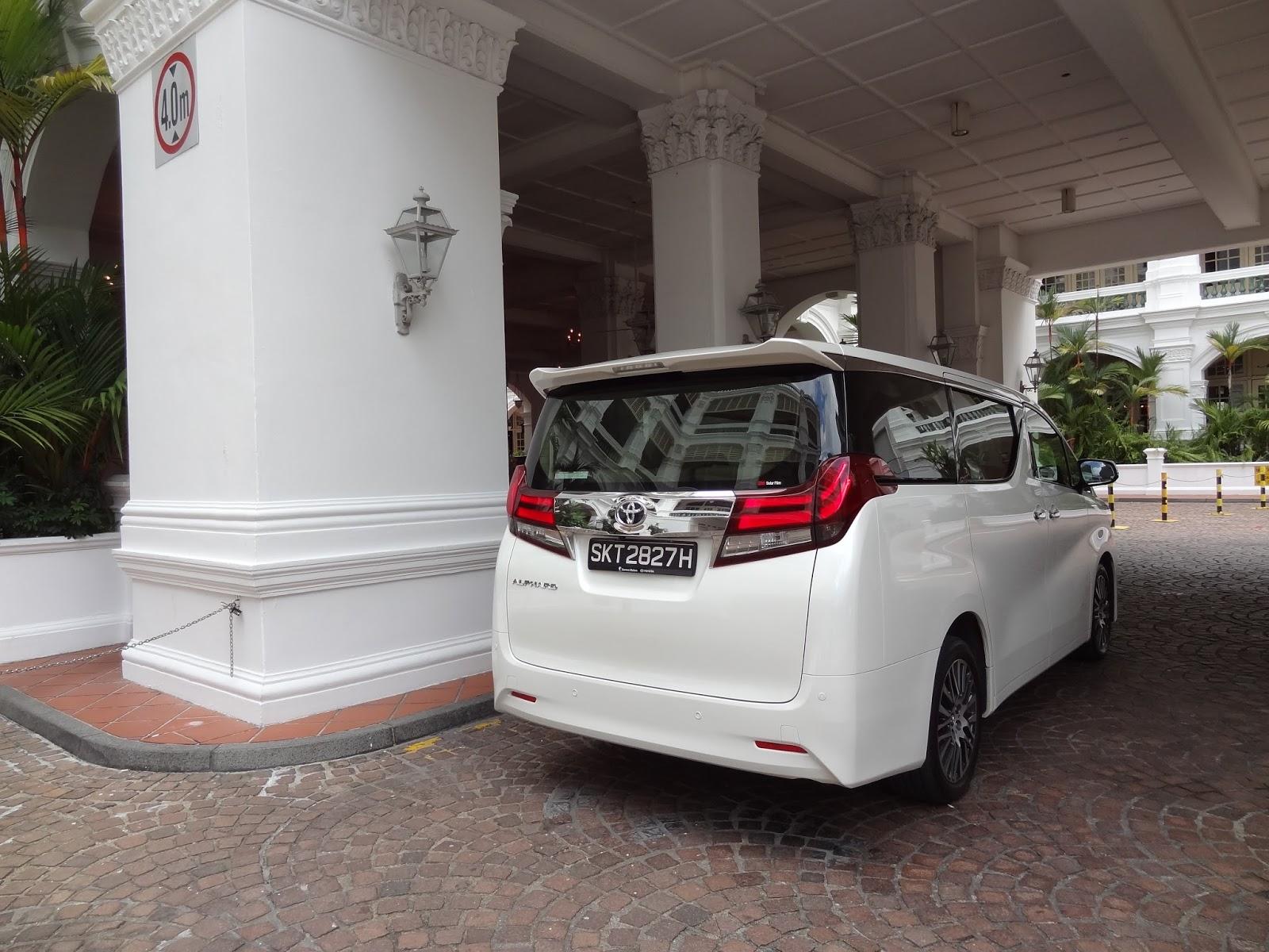 Shaun Owyeong: Toyota Alphard 2 5 Elegance [Car Review]