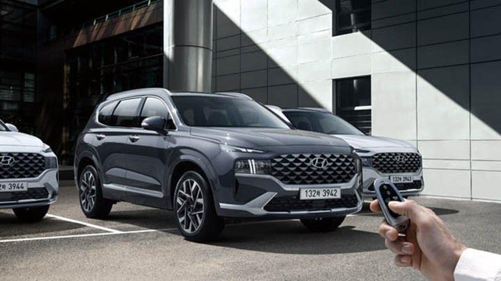 Chi tiết động cơ Hyundai SantaFe 2021
