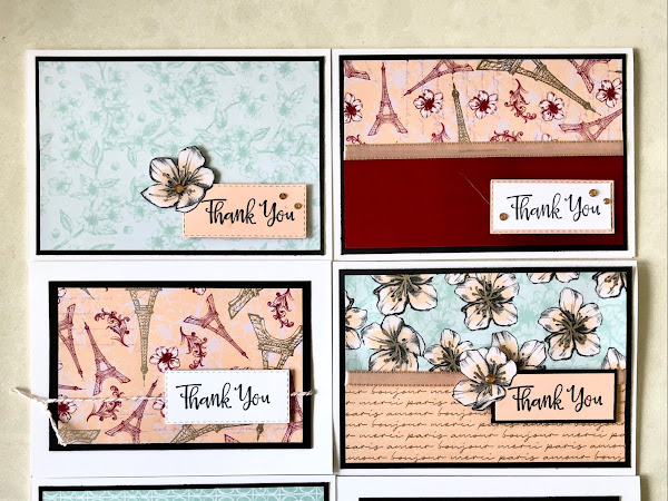 Ink It! Stamp It! Blog Hop: Thank You