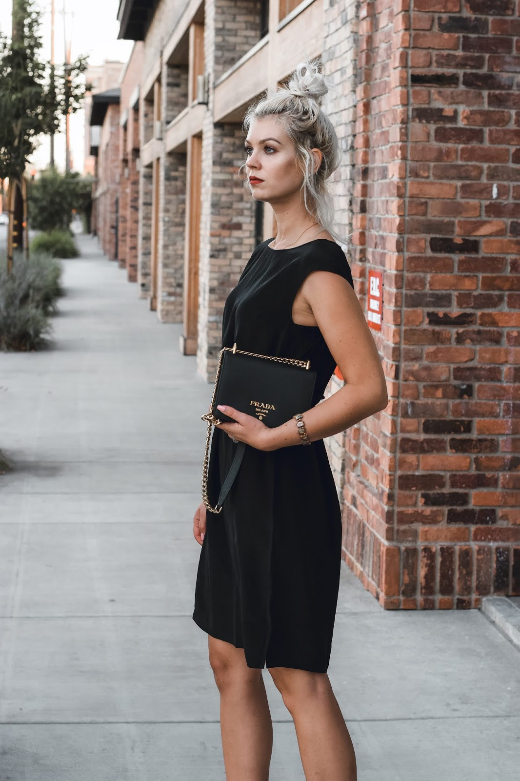 how to style a black dress