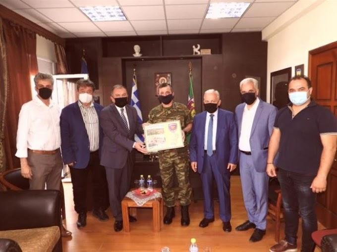 Παράδοση εξοπλισμού στην 50 ΜΚ Ταξιαρχία από Δημάρχους Μακεδονίας και Θράκης
