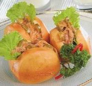 Resep Roti isi Selada Tuna