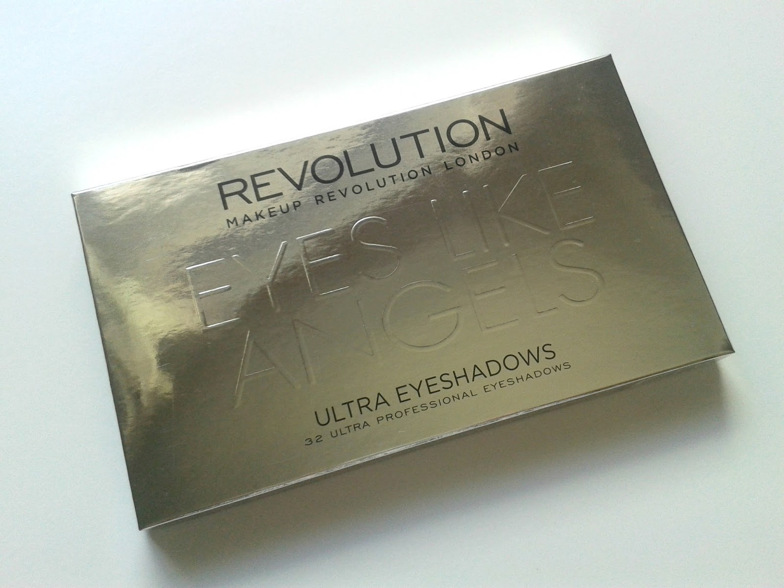 Makeup Revolution Eyes Like Angels Ultra 32 Shade Eyeshadow Palette Box Beauty Review
