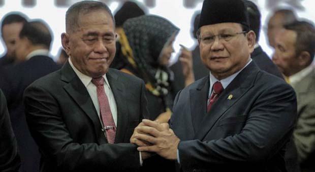 Digantikan Prabowo, Ryamizard Ryacudu Merasa Senang