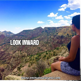 Look Inwards...