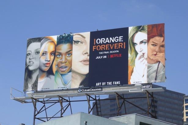 Orange is the New Black final season billboard
