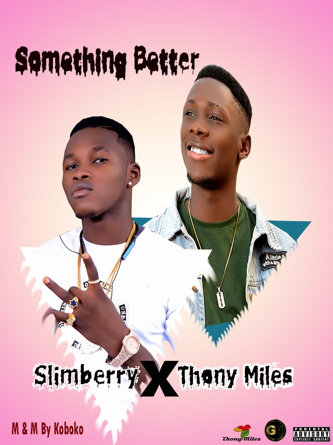[Music] Slimberry Ft Thony Miles - Something Better
