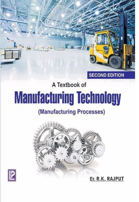 Manufacturing technology ebook free download