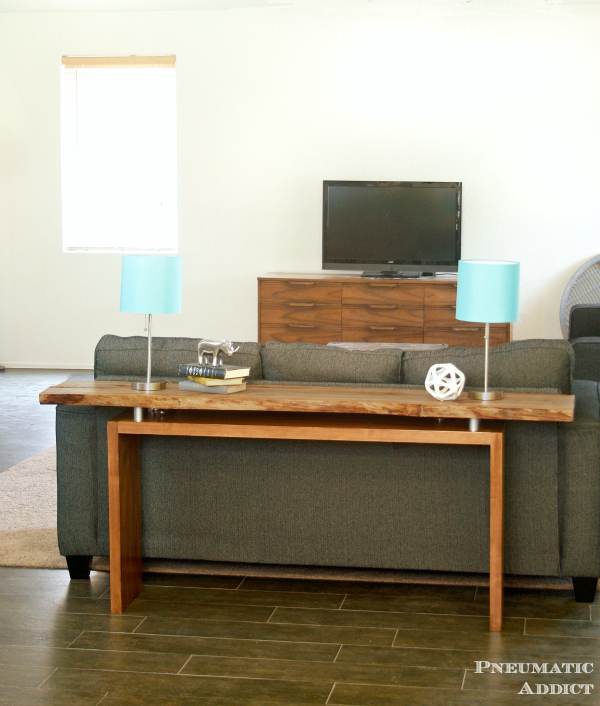 Floating Top Console Table Building Plans Pneumatic Addict - How to build a console table