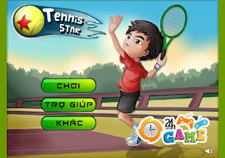 Chơi game tennis 2 hấp dẫn
