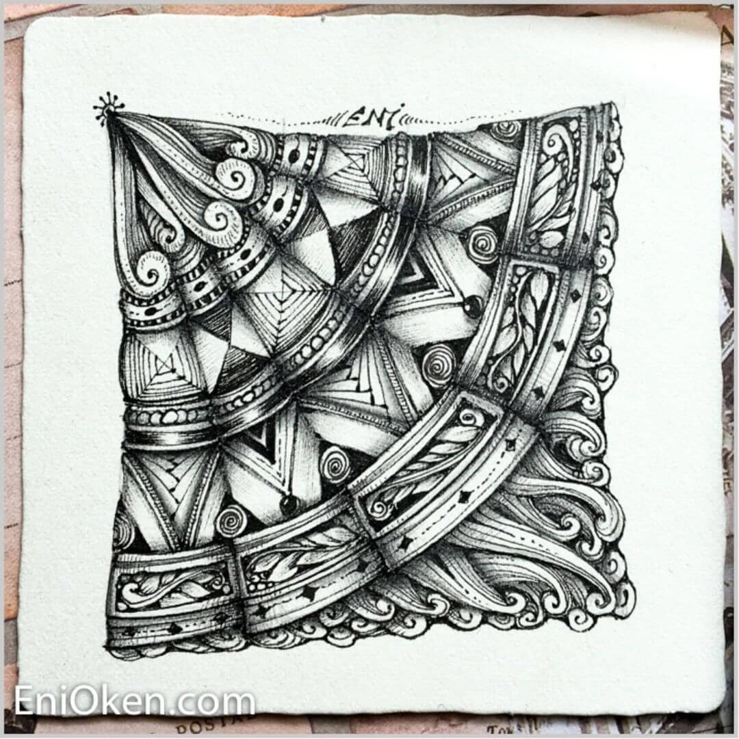 10-Fan-String-Eni-Oken-Ink-and-Pencil-Fantasy-and-Zentangle-Drawings-www-designstack-co
