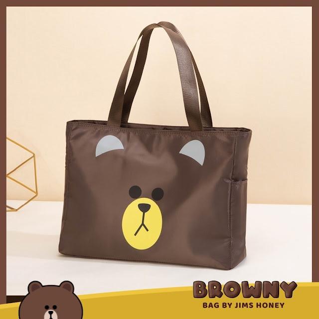 Jimshoney Browny Bag