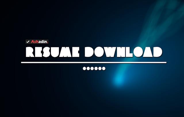 Cara melakukan Resume pada Link Download IDM yang sudah Expired / Mati