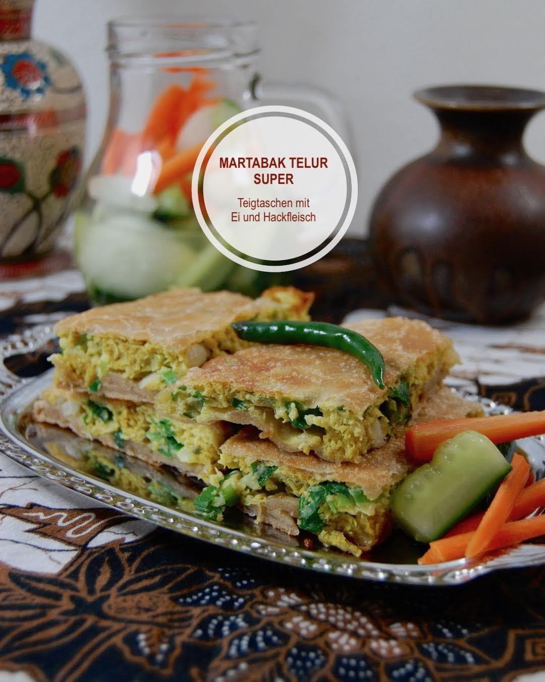 Martabak Telur Super, Frittierte Teigtaschen aus Bali
