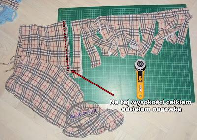 blog o przerabianiu ubrań krok po kroku