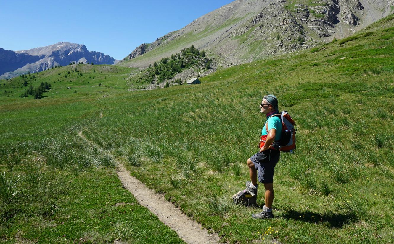 Trail near Cabane l'Ecuelle