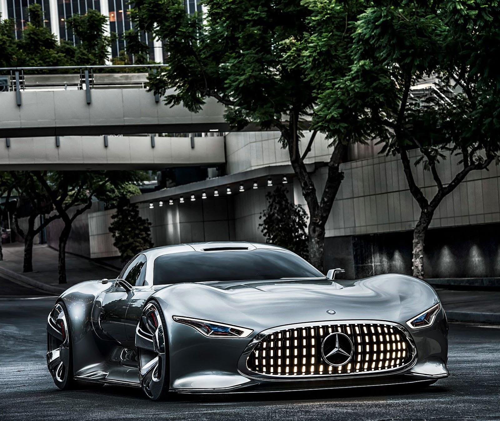 Jake's Car World: Mercedes-Benz AMG Vision Concept