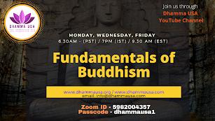 FBC 101 - Fundamentals of Buddhism
