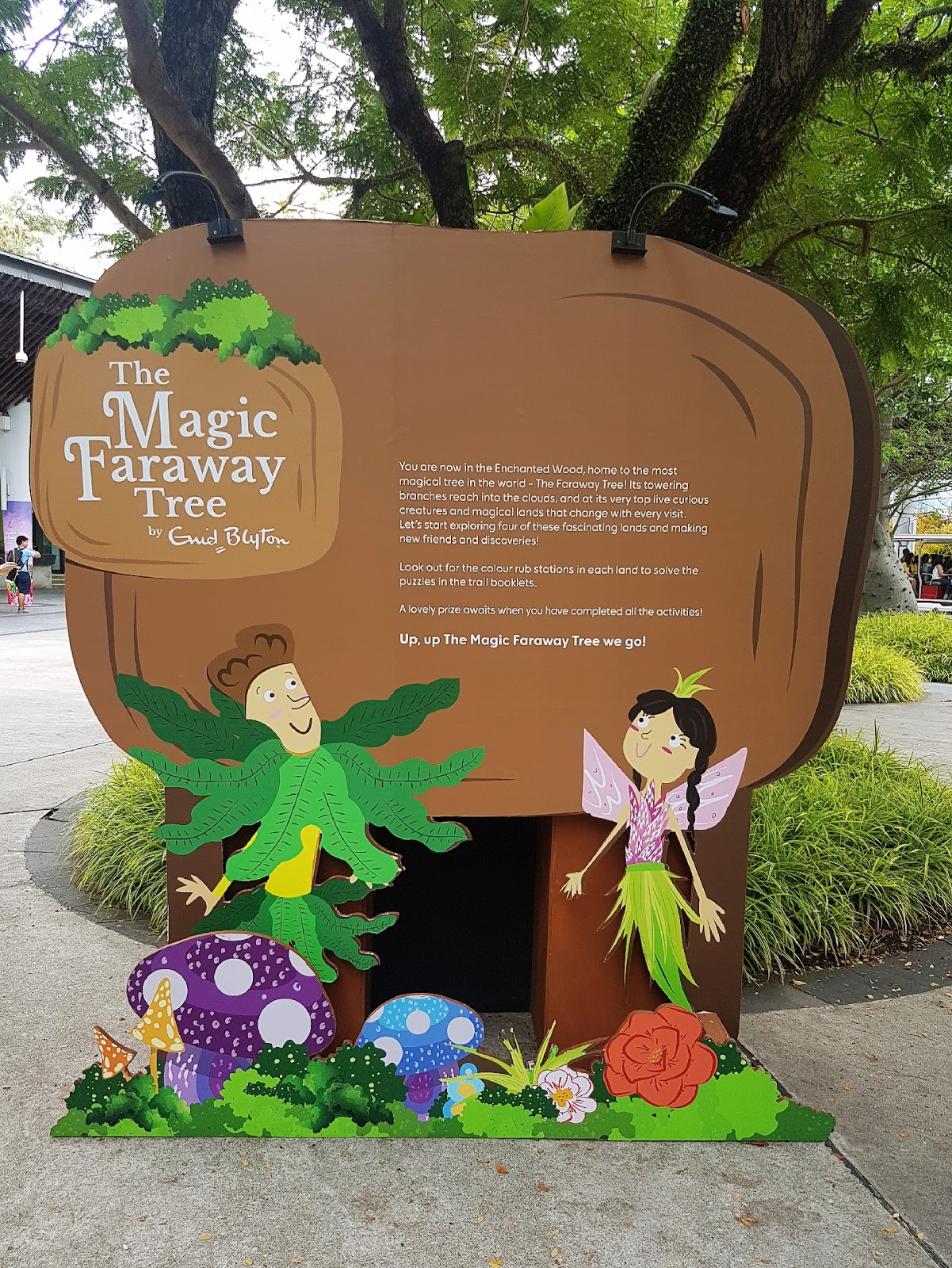 I promise I will go jog today: The Magic Faraway Tree @ Gardens by ...