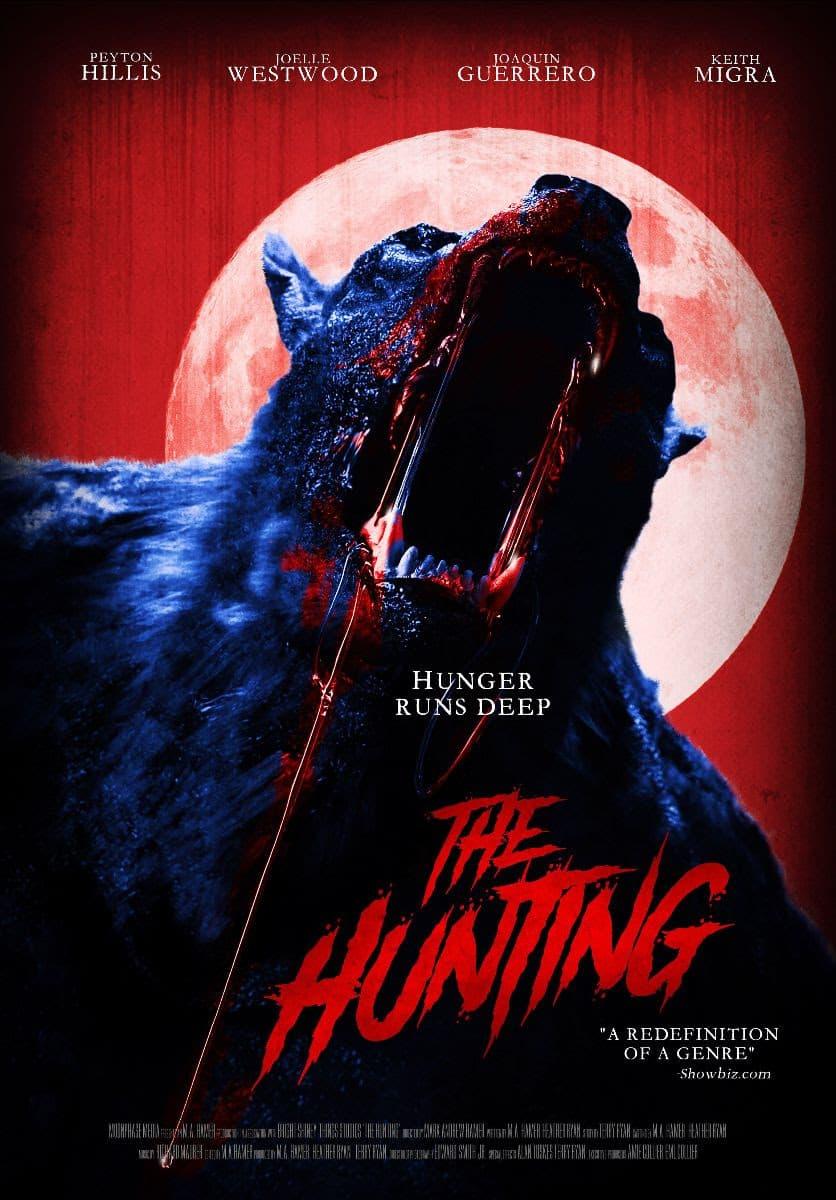 Оборотни вернулись! Вышел трейлер независимого ироничного хоррора The Hunting - Постер