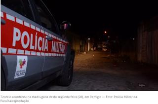 Troca de tiros em bar deixa nove feridos, em Remígio