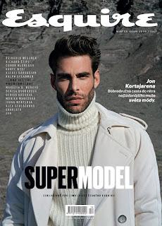 INYIM Media Fashion Coverboy: Supermodel Jon Kortajarena Via Esquire Czech Republic's Winter 2020 Edition!