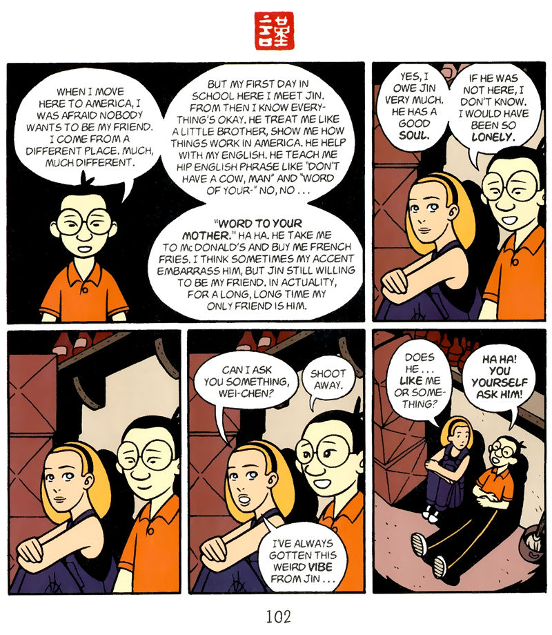 Page 102, Chapter 5 - American Born Chinese Book Online