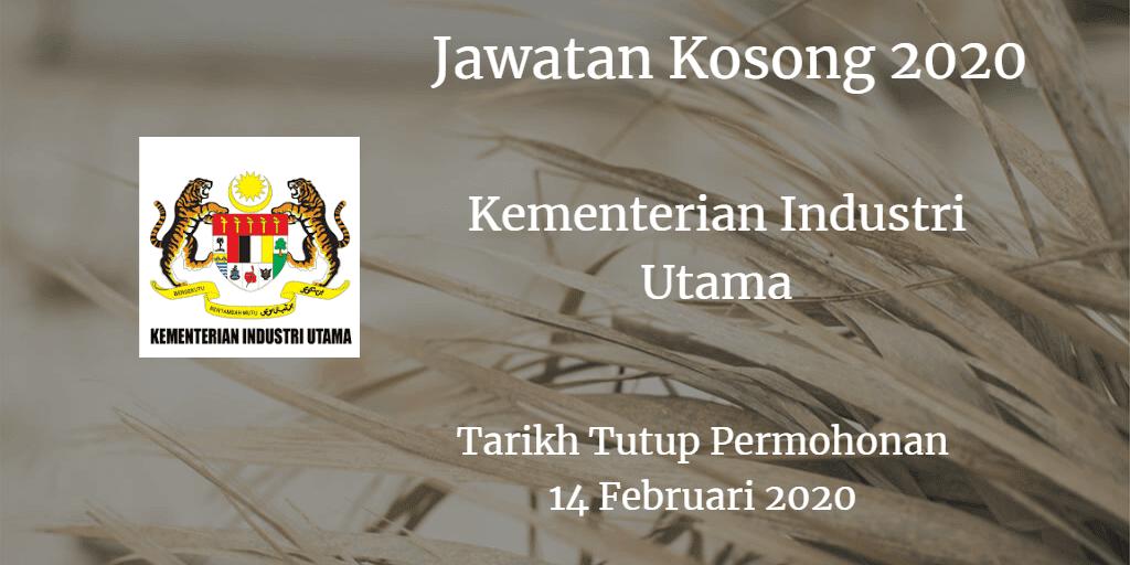 Jawatan Kosong MPI 14 Februari 2020