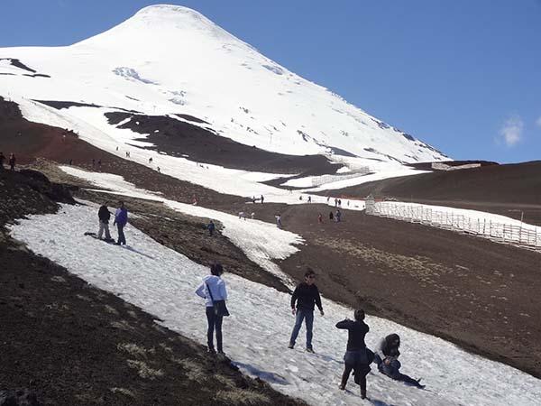Trekking no Vulcão Osorno em Puerto Varas, no Chile