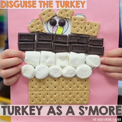 With this super-fun project by The Husky Loving Teacher, students help turkeys go undercover. Disguises include cupcakes, pirates, ballerinas, and more!