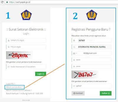 Cara daftar ebilling versi terbaru sse3.pajak.go.id
