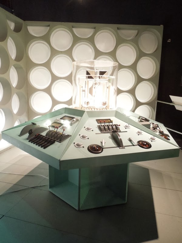 Doctor Who TARDIS MK1 control room interior