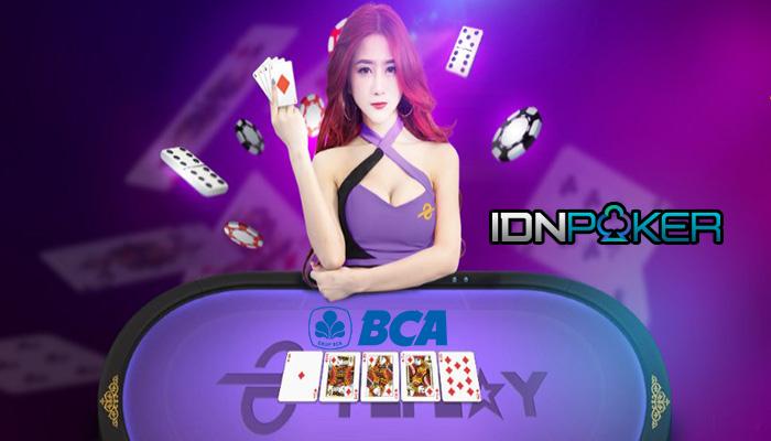 Situs Poker Online Bank Bca