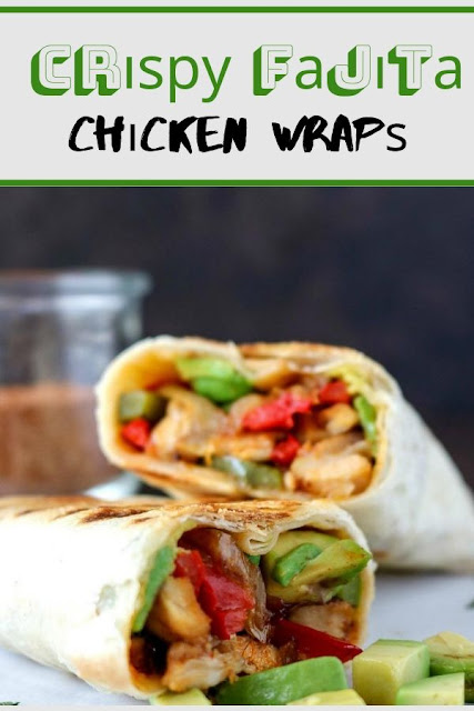 Crіѕру Fаjіtа Chісkеn Wrарѕ #Crіѕру #Fаjіtа #Chісkеn #Wrарѕ Healthy Recipes For Weight Loss, Healthy Recipes Easy, Healthy Recipes Dinner, Healthy Recipes Best, Healthy Recipes On A Budget, Healthy Recipes Clean,