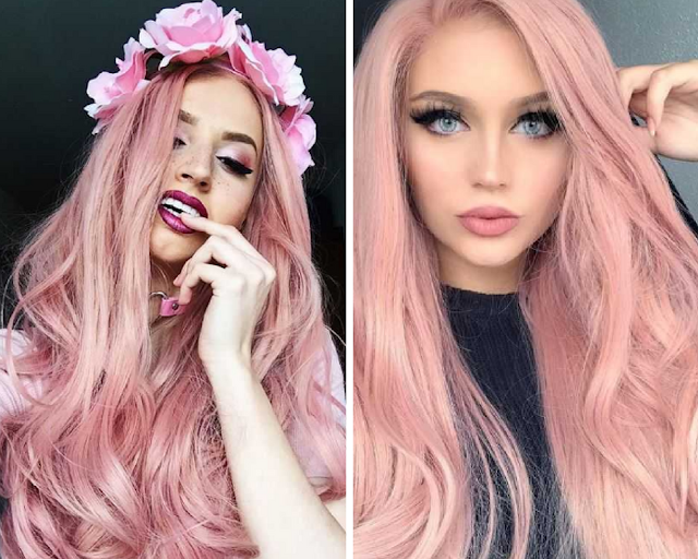 Pink Hair Wigs - Everyday Wigs