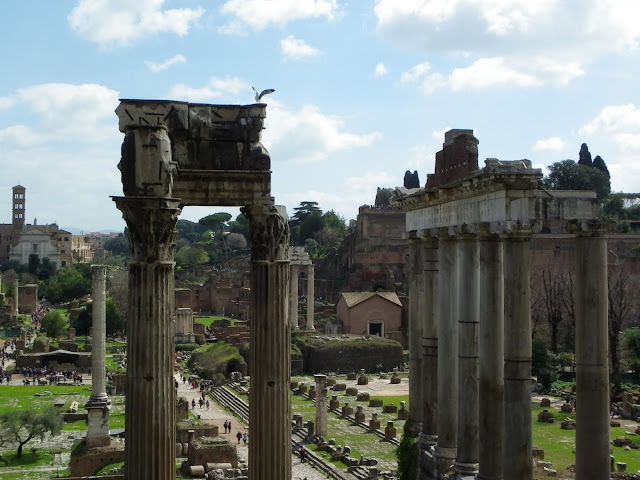 The Roman Forum, Rome, Italy - Sincerely Loree