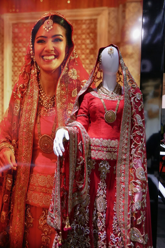 Four Weddings and Funeral Fatima wedding sari
