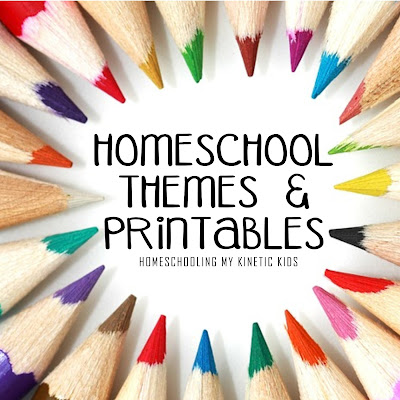Themed unit study ideas and free printables for homeschoolers