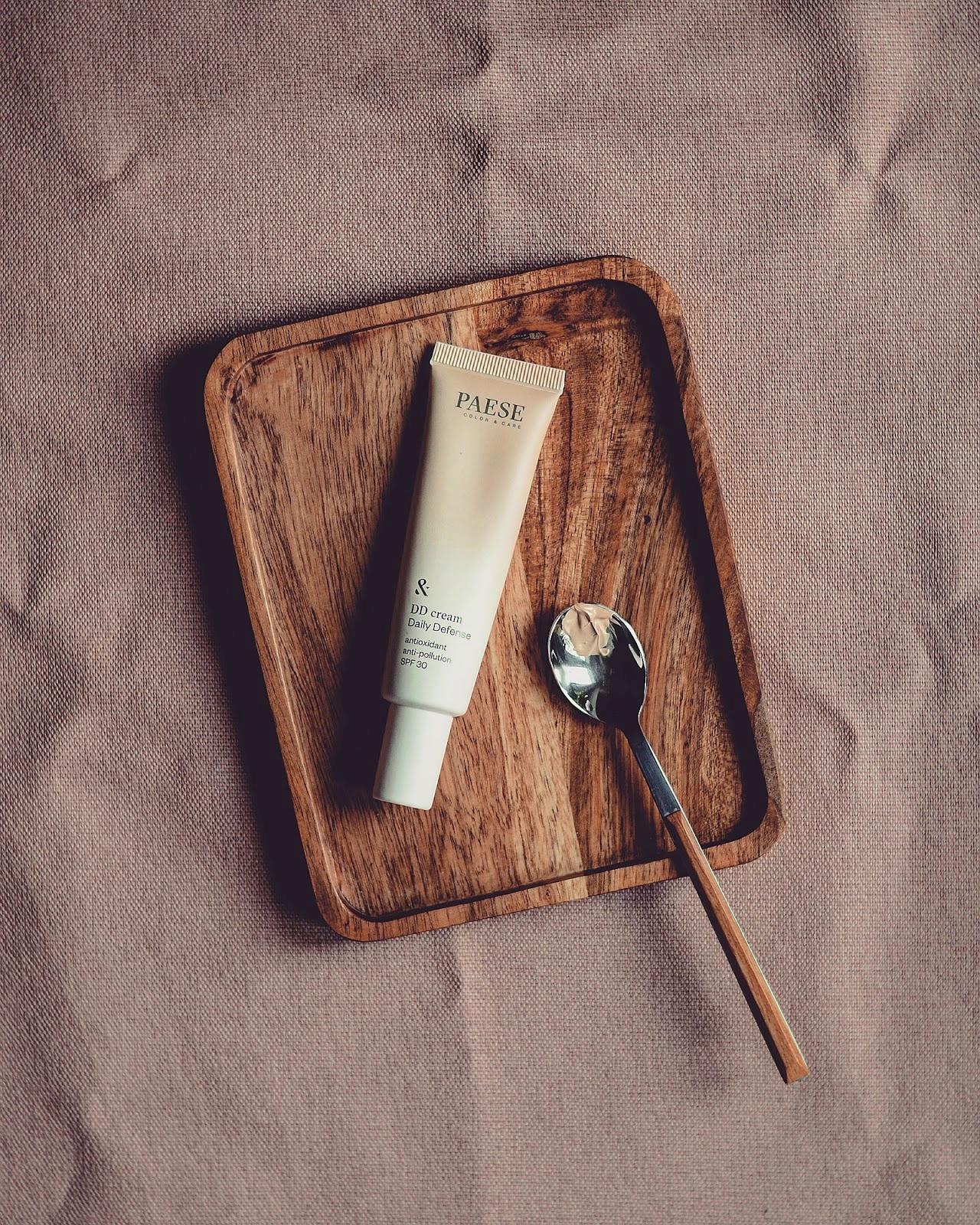 paese cream dd lekki krem barwiący podkład naturalny do twarzy podkład który nie daje efektu maski nawilżający kremowy podkład dla suchej i odwodnionej skóry podkład który nie zatyka porów lekki podkład nawilżający