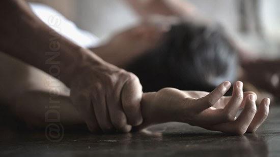 13 foragido homem estuprar filha preso