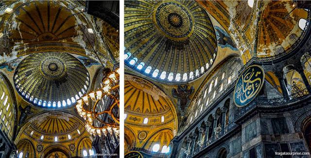 Cúpula da Basílica de Santa Sofia, Istambul