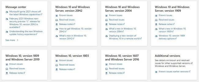 استكشاف مشكلات تثبيت تحديث Windows 10 وإصلاحها
