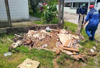 Prefeitura de Cananéia realiza Mutirão de Limpeza em Bairros da Cidade