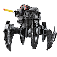 Un robot araignée pour se battre contre l'envahisseur