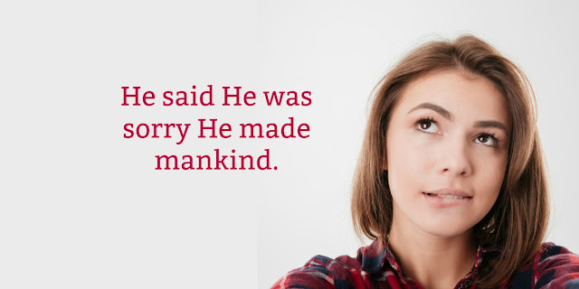 Scripture says God doesn't change His mind, but Genesis says God was sorry He created mankind. This 1-minute devotion explains this seeming contradiction. #BibleLoveNotes #Bible
