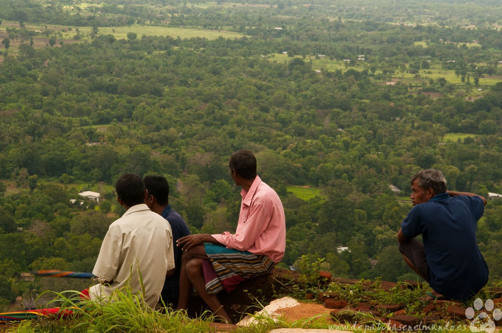 Roca del Leon en Sigiriya