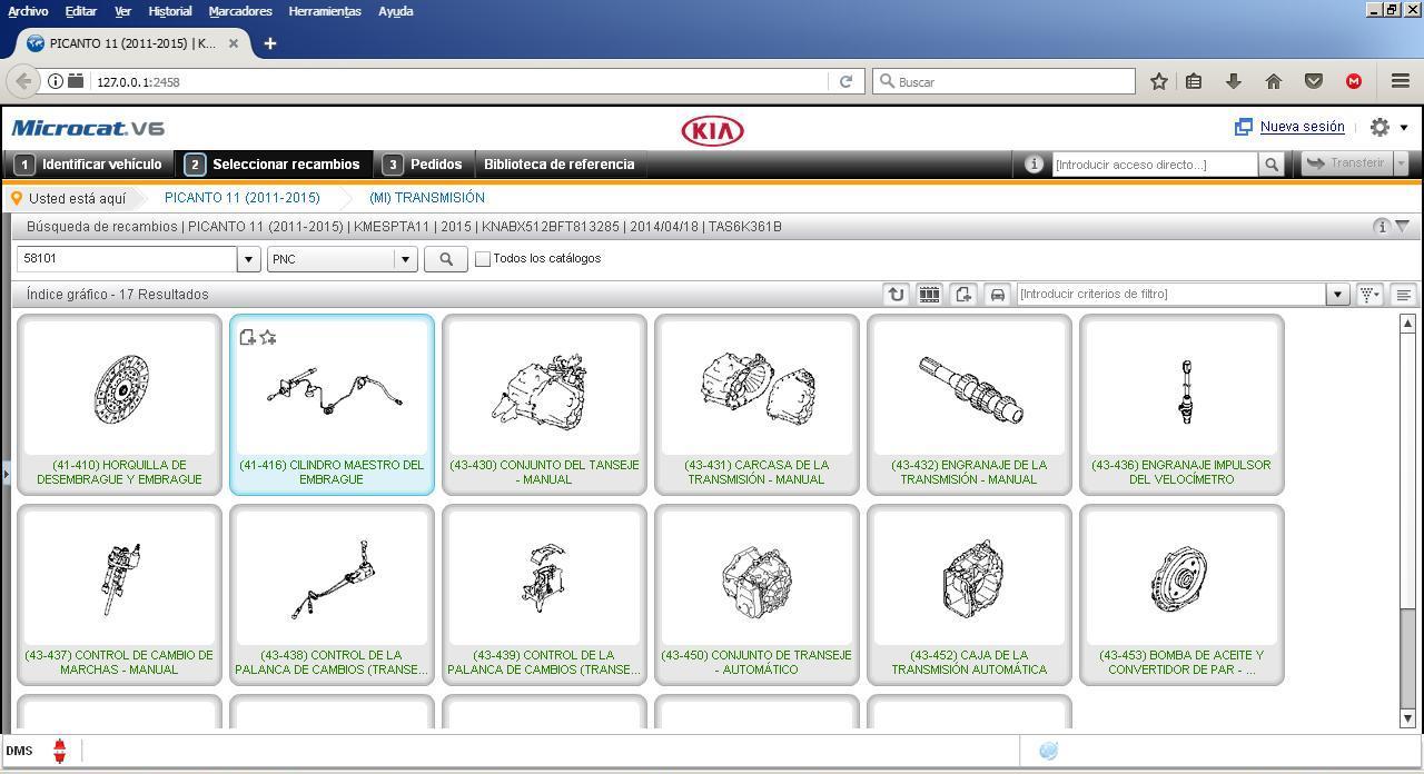 AutoParts Catalogs: KIA - ALL MARKETS (Microcat)